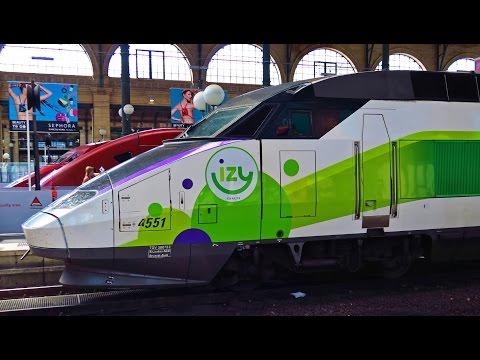TGV Thalys IZY  Paris Nord + LGV