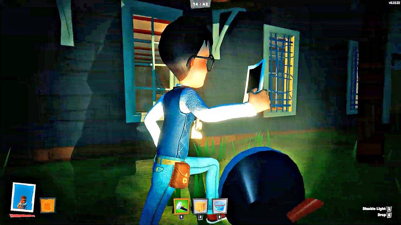 SECRET NEIGHBOR - NEW Bagger & Detective Gameplay - YouTube
