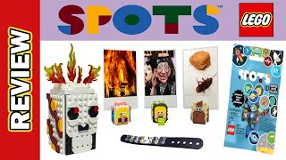 LEGO Spots - Preview Review. Bracelets, Skull Pencil Holder, Slapstick Animal Photoholders