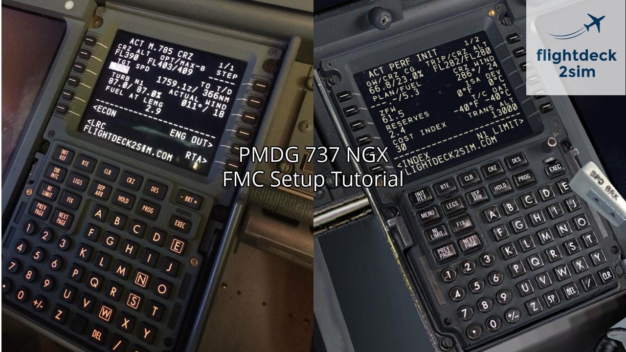 pmdg 737 ngx real boeing pilot fmc setup tutorial youtube rh youtube com boeing 737 fmc guide boeing 737 fmc user's guide