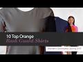 10 Top Orange Rash Guard Shirts Women's Swimwear, Spring 2017