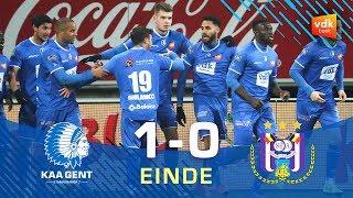 🎬 KAA GENT - Anderlecht: 1-0