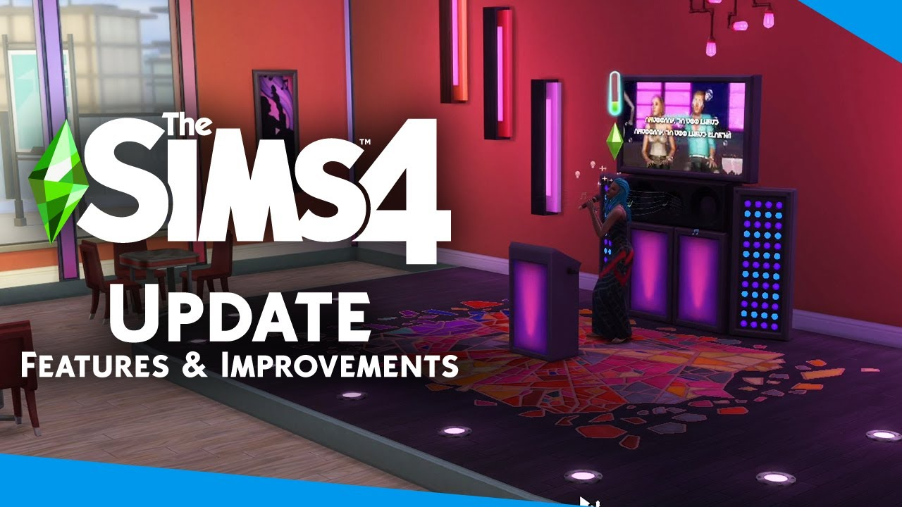Small Additions and Improvements in The Sims 4's New Update