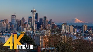 Video Seattle - The Emerald City - 4K Film with City Views & Relaxaing Music - Part 1 download MP3, 3GP, MP4, WEBM, AVI, FLV September 2017