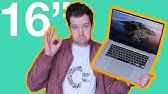 "The 16"" MacBook Pro: It Doesn't Suck!"