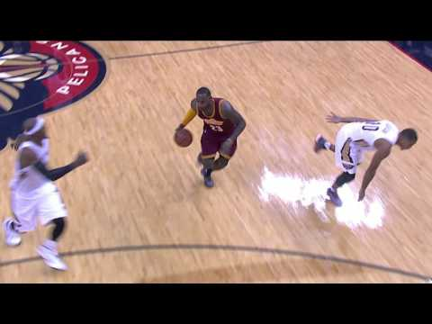Anthony Davis Duels LeBron James in New Orleans
