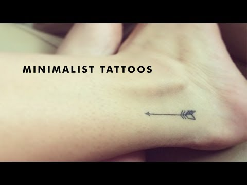 Beautiful Minimalist and Small Tattoos