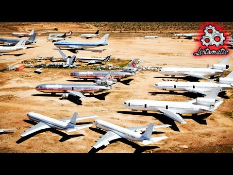 Top 10 Most Unbelievable Airplane Junkyards In The World