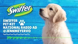 Swiffer Pet Kit National Radio I Jenn Meyer Voiceover