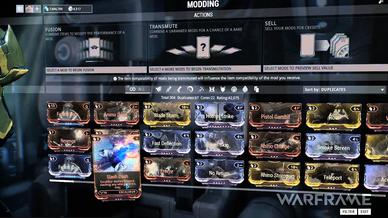 Warframe Tutorial - Mods