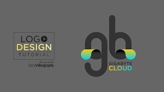 3D LETTERING EFFECT LOGOTYPE in COREL DRAW | DelcaVideography