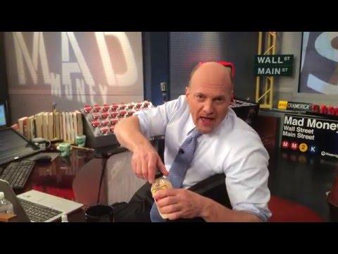 Jim Cramer From Mad Money Takes The Horseradish Challenge