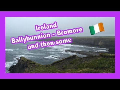 Travel Ireland: Road trip Ballybunnion and Bromore Cliffs