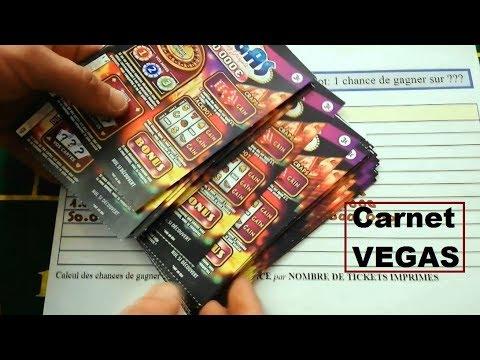 Carnet de jeux à gratter VEGAS 🍀 Grattage d'un carnet FDJ ILLIKO 🍀