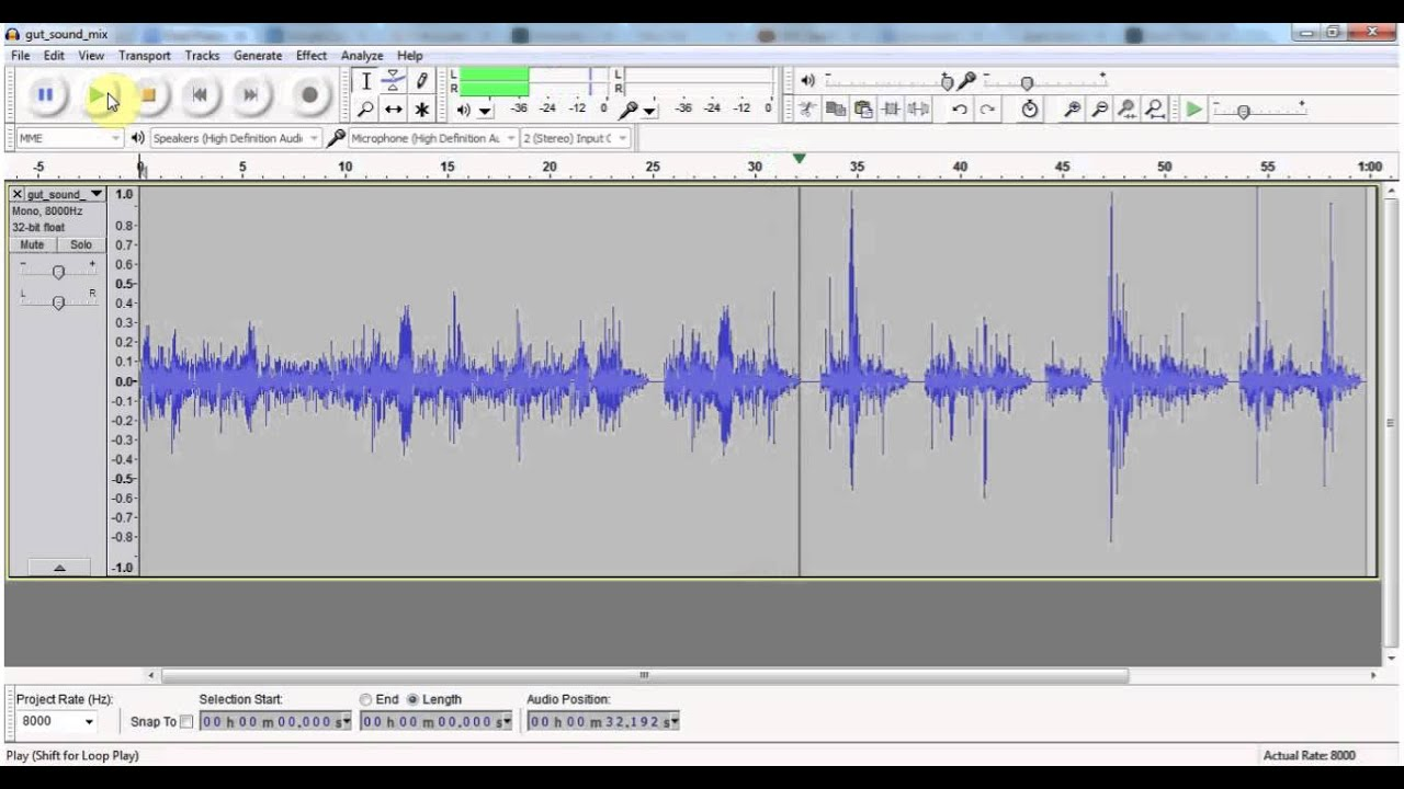 how to hear sounds from obs