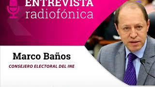 Entrevista de Marco Baños sobre resolución del Tribunal por Fideicomiso de Morena