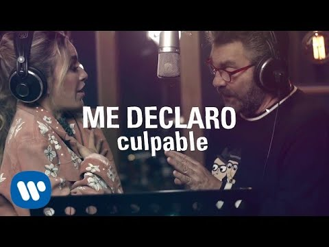 Mijares & María José - Me Declaro Culpable (Lyric Video)