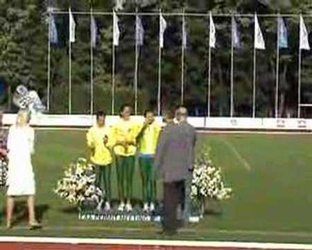 Europos Lengvosios atletikos varžybos Kaunas 2008 {4x100}