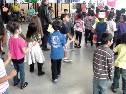 cupid shuffle at darnall school.... - YouTube