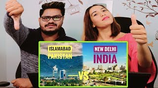 Indian Reaction On Islamabad vs Delhi | which is the most beautiful Capital City | Krishna Views Video