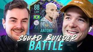 SQUAD BUILDER BATTLE | 88 FUTURE STAR ANTONY