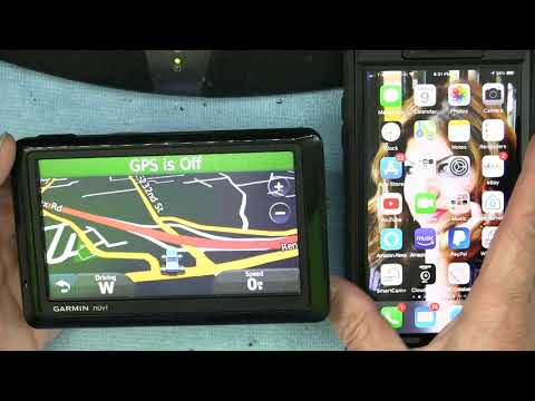 How to use Bluetooth Sync With Your iPhone or Smartphone in a Garmin Nuvi 1490 GPS Navigation Device