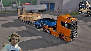 ☆Ja i Mój Truck ! Zlecenie Ponadgabarytowe ☆Euro Truck Simulator 2 VIVE LA FRANCE #1 SP