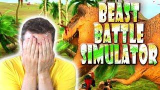 RIP T-REX! - Beast Battle Simulator Dansk Ep 1