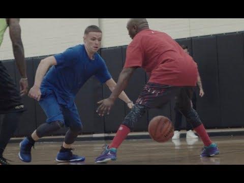Professor balls on Westside of Chicago w/ Arthur Agee star of Hoop Dreams movie