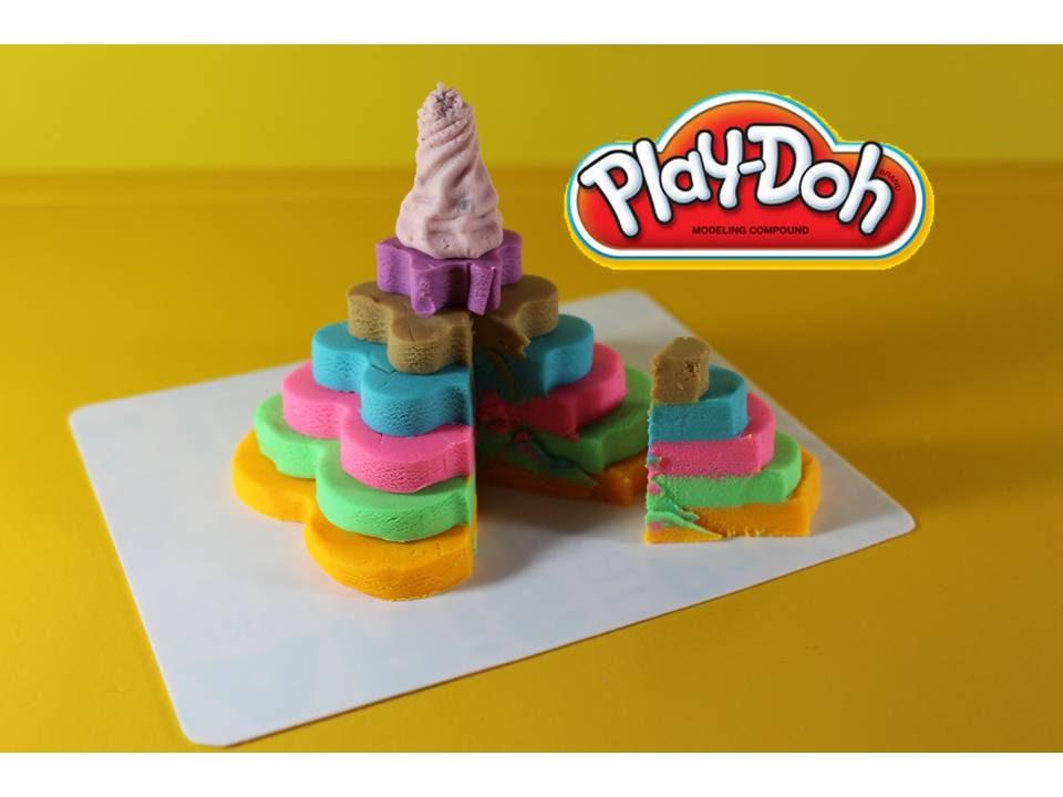 Торты из пластилина