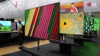 IFA 2017: LG OLED TV W