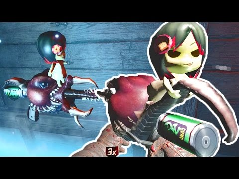 NAUGHTY WONDER WEAPON GIRL, WTF! Call of Duty Black Ops 3 Zombies Bunker 10 Gameplay