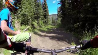 Sun Peaks Bike Park - Honey Drop [Aug 2013]