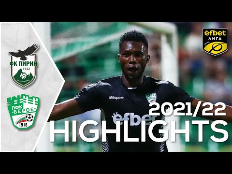 Pirin Blagoevgrad Beroe Goals And Highlights