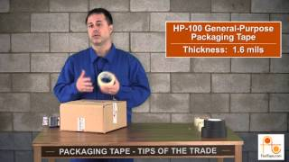 Tips of The Trade: Packaging Tape