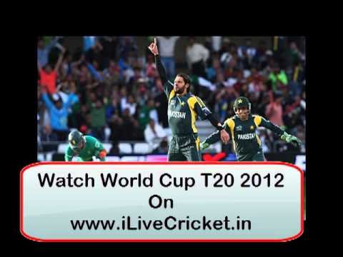 Pakistan vs South Africa Live Streaming T20 World Cup 2012 in HD