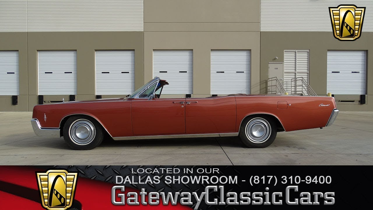 1966 Lincoln Continental #544-DFW Gateway Classic Cars of Dallas ...