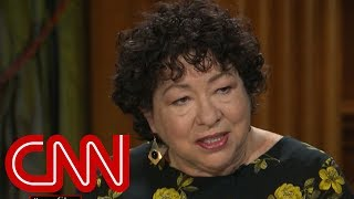 Justice Sonia Sotomayor: The 9 of us are family now