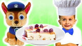 Запеканка из творога с KuSaNiKi - Рецепты для детей