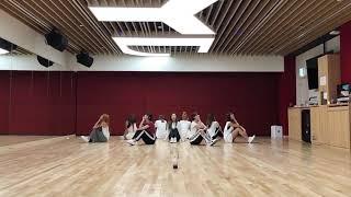 [Mirrored] TWICE 트와이스 Dance The Night Away NEW JYP Practice Room Ver YouTube
