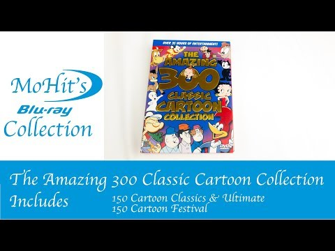 The Amazing 300 Classic Cartoon Collection