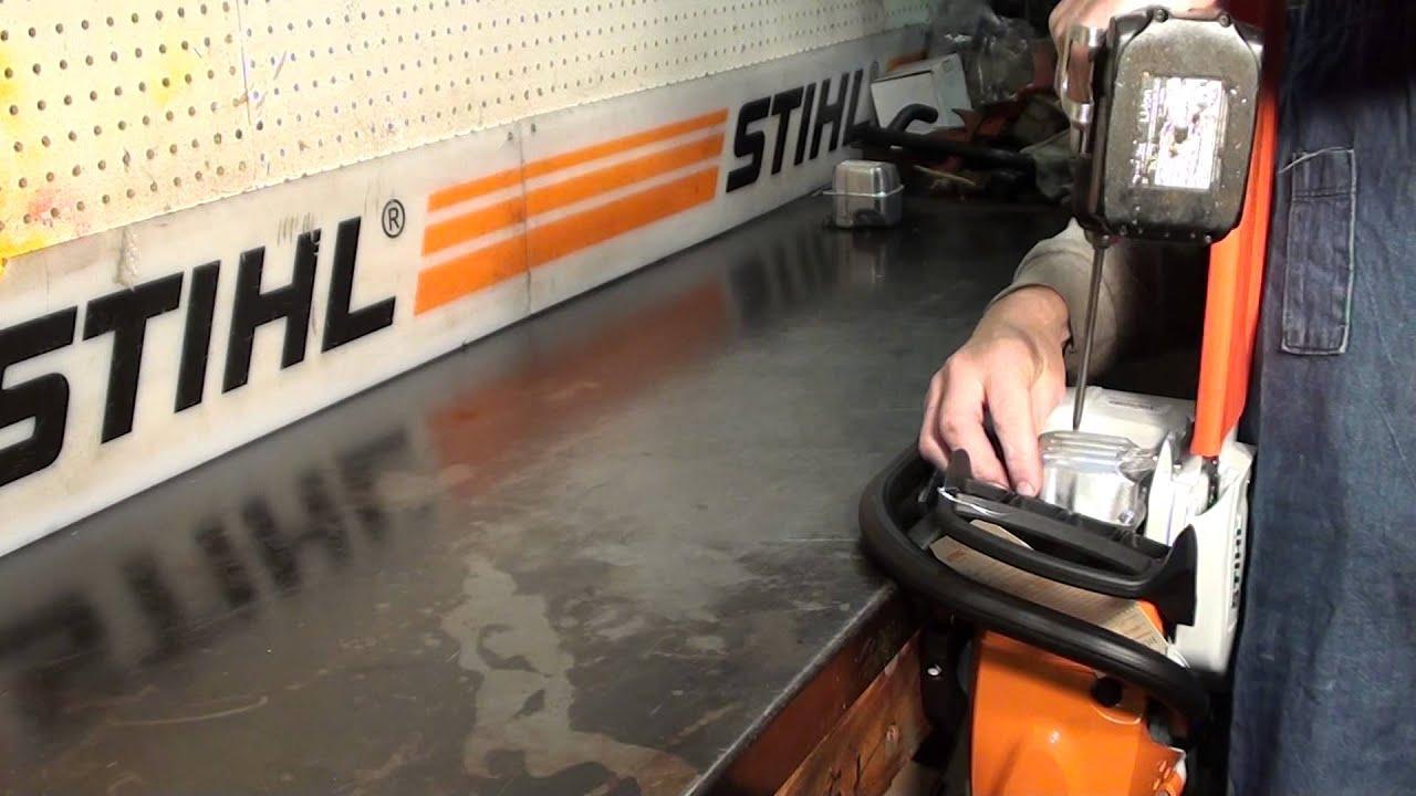 The chainsaw Guy Shop talk Racing Muffler Stihl MS 391 362 311 Buckshot  Muffler