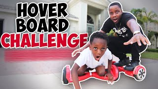 LAST TO FALL OFF THE HOVERBOARD WINS $1,000