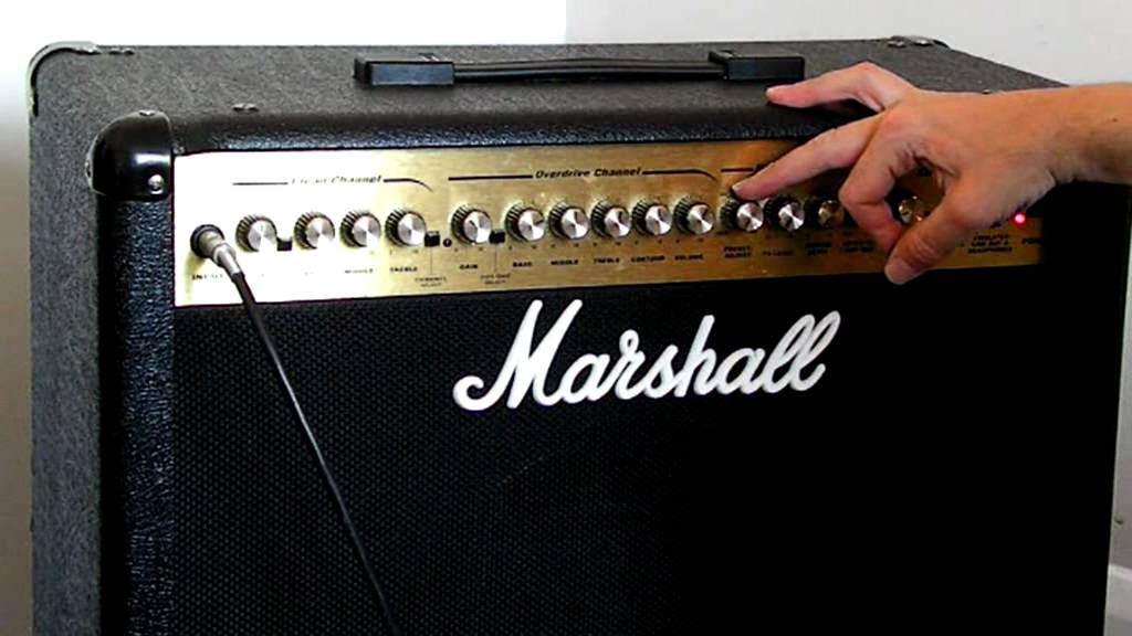 100 Amp Disconnect >> Marshall MG100 DFX Amp - YouTube