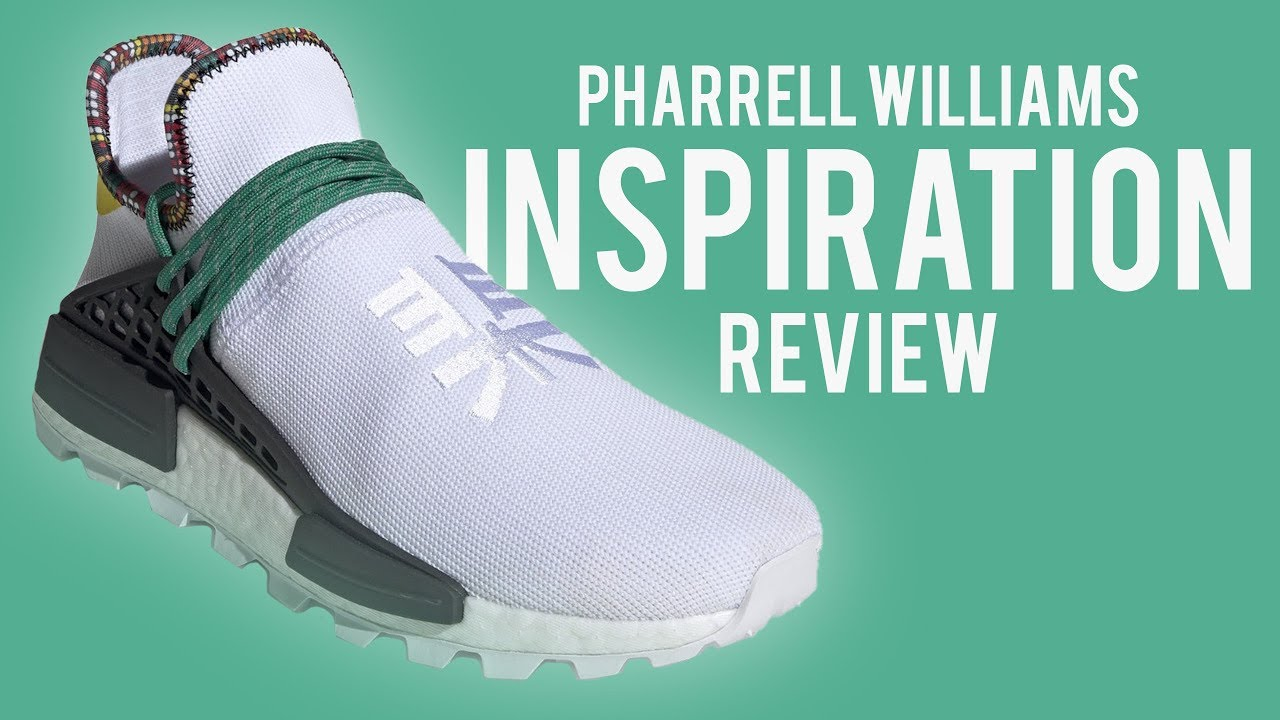 Adidas Nmd Hu Pharrell Inspiration White Review Youtube
