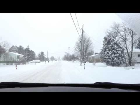 Winter Driving in Milton, Vermont (Remix)