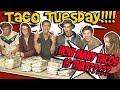 30,000 Calorie 150 Taco SHOCK COLLAR Challenge - Josh Darnit Vs AJMG