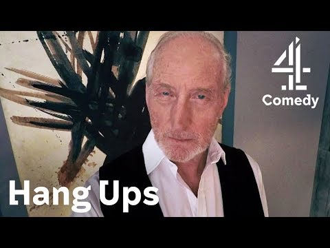 Dad Charles Dance Puts Richard Stephen Mangan on Edge with Mystery Call!  Hang Ups