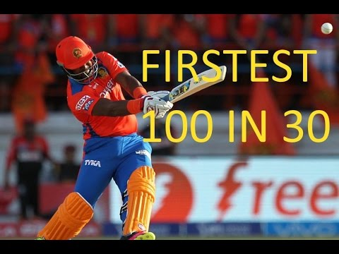 Dwayne smith Record smashes 100 runs in 31 balls