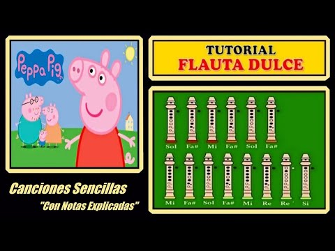 peppa-pig-|-recorder-notes-tutorial